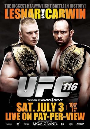 UFC 116: Lesnar vs. Carwin - Movie Poster (thumbnail)
