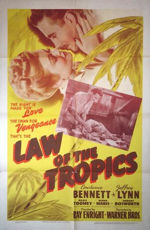Law of the Tropics - Movie Poster (thumbnail)