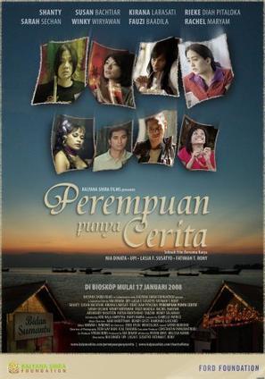 Perempuan punya cerita - Indonesian Movie Poster (thumbnail)