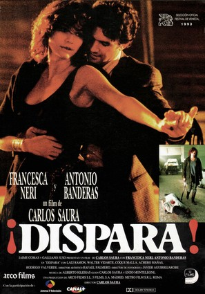 ¡Dispara! - Spanish Movie Poster (thumbnail)