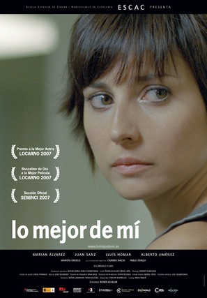 Lo mejor de mí - Spanish Movie Poster (thumbnail)