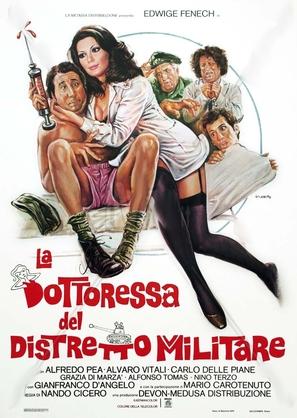 La dottoressa del distretto militare - Italian Movie Poster (thumbnail)