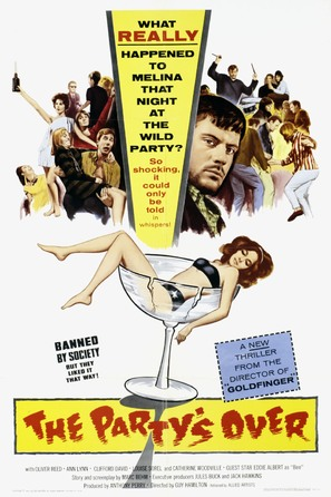 The Party's Over - British Movie Poster (thumbnail)