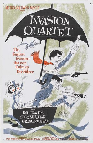 Invasion Quartet - Movie Poster (thumbnail)