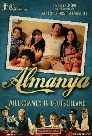 Almanya - Willkommen in Deutschland - German Movie Poster (thumbnail)