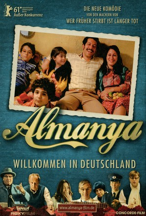 Almanya - Willkommen in Deutschland - German Movie Poster (thumbnail)