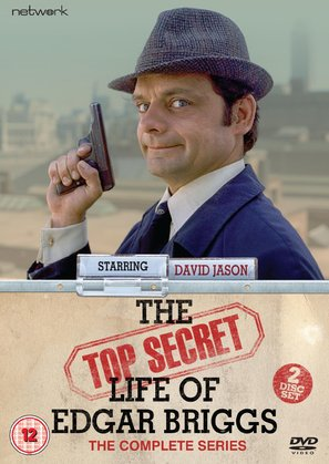"""The Top Secret Life of Edgar Briggs"" - British DVD movie cover (thumbnail)"