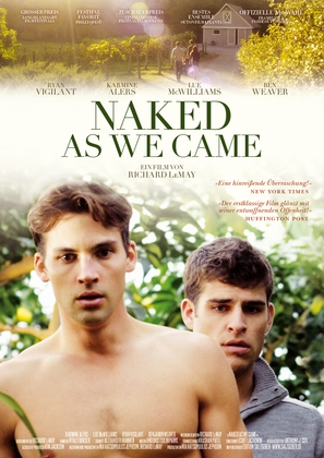 Naked As We Came - German Movie Poster (thumbnail)