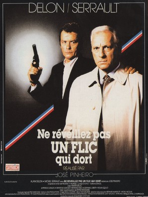 Ne réveillez pas un flic qui dort - French Movie Poster (thumbnail)