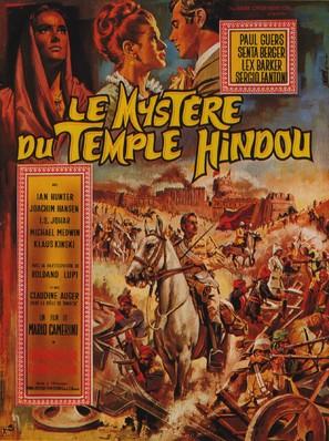 Il mistero del tempio indiano - French Movie Poster (thumbnail)