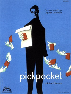 Pickpocket - French Movie Poster (thumbnail)