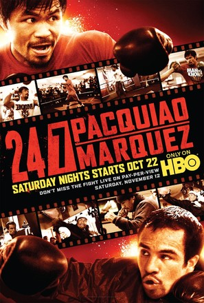 """24/7 Pacquiao/Marquez"" - Movie Poster (thumbnail)"