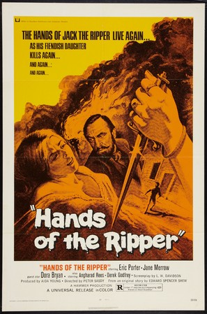 Hands of the Ripper - Movie Poster (thumbnail)