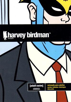 """Harvey Birdman, Attorney at Law"" - Brazilian poster (thumbnail)"