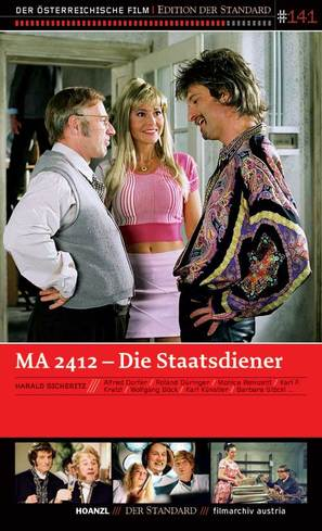 MA 2412 - Die Staatsdiener - Austrian Movie Poster (thumbnail)