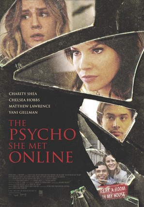 The Psycho She Met Online - Canadian Movie Poster (thumbnail)