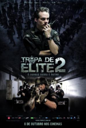 Tropa de Elite 2 - O Inimigo Agora É Outro - Brazilian Movie Poster (thumbnail)