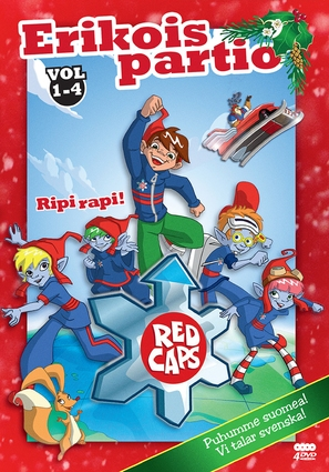 """""""Red Caps"""" - Finnish DVD cover (thumbnail)"""