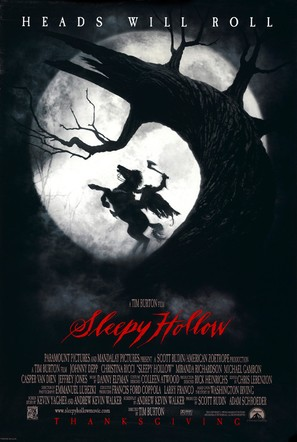 Sleepy Hollow - Movie Poster (thumbnail)