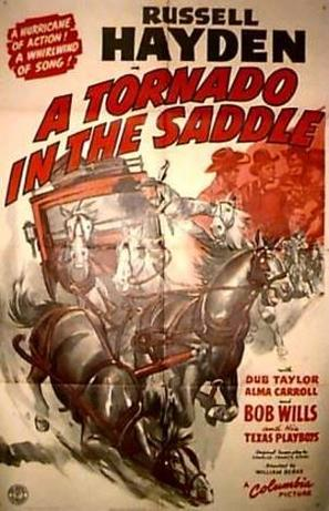 A Tornado in the Saddle - Movie Poster (thumbnail)