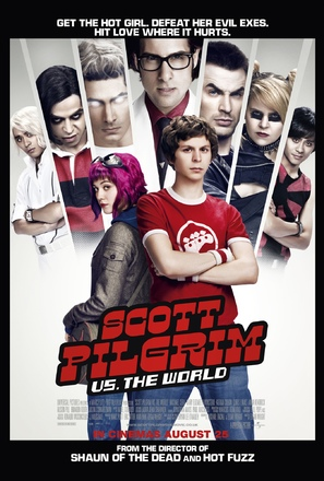 Scott Pilgrim vs. the World - British Movie Poster (thumbnail)