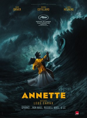 Annette - French Movie Poster (thumbnail)