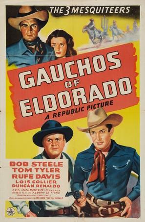 Gauchos of El Dorado - Movie Poster (thumbnail)
