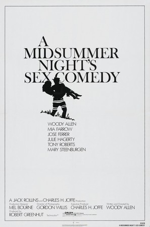 A Midsummer Night's Sex Comedy - Movie Poster (thumbnail)