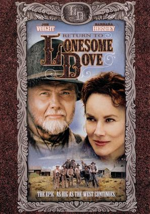 Return to Lonesome Dove - DVD cover (thumbnail)