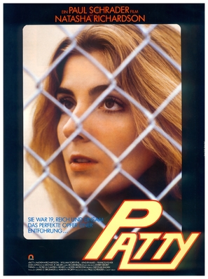 Patty Hearst - German Movie Poster (thumbnail)