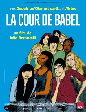 La Cour de Babel - French Movie Poster (thumbnail)