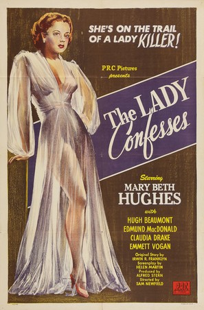 The Lady Confesses - Movie Poster (thumbnail)