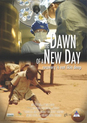 The Dawn of a New Day - South African Movie Poster (thumbnail)