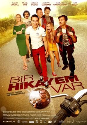 Bir hikayem var - Turkish Movie Poster (thumbnail)