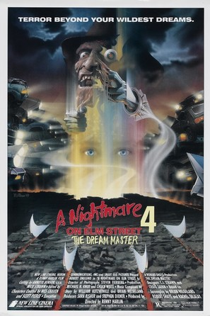 A Nightmare on Elm Street 4: The Dream Master - Movie Poster (thumbnail)