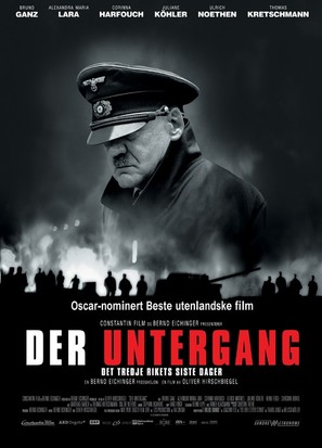 Der Untergang - Danish Movie Poster (thumbnail)
