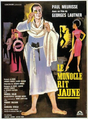 Monocle rit jaune, Le - French Movie Poster (thumbnail)