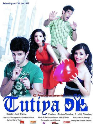 Tutiya Dil - Indian Movie Poster (thumbnail)