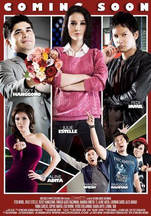 Aku atau dia? - Indonesian Movie Poster (thumbnail)