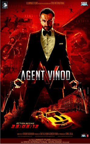 Agent Vinod - Indian Movie Poster (thumbnail)