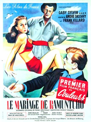 Le mariage de Ramuntcho - French Movie Poster (thumbnail)