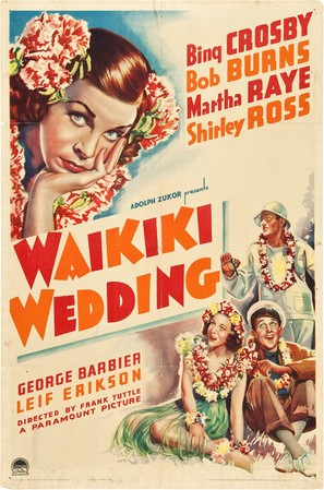 Waikiki Wedding - Movie Poster (thumbnail)