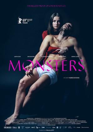 Monstri. - Romanian Movie Poster (thumbnail)