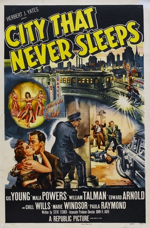 City That Never Sleeps - Movie Poster (thumbnail)