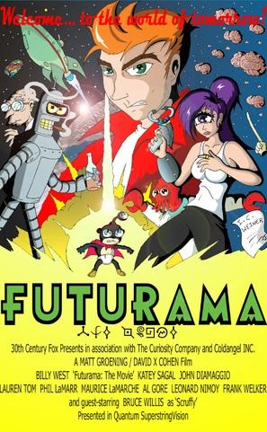 Futurama: Bender's Big Score! - Movie Poster (thumbnail)