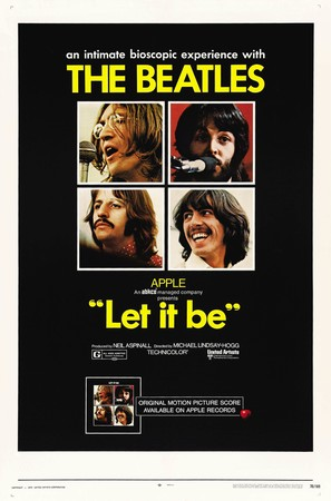 Let It Be - Movie Poster (thumbnail)