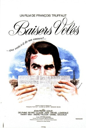 Baisers volés - French Movie Poster (thumbnail)