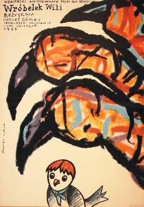 Vili, a veréb - Polish Movie Poster (thumbnail)