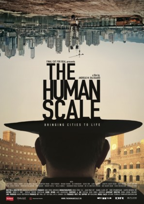 The Human Scale - Danish Movie Poster (thumbnail)