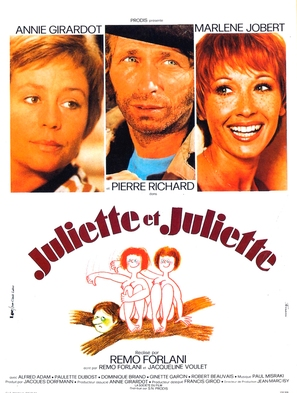 Juliette et Juliette - French Movie Poster (thumbnail)